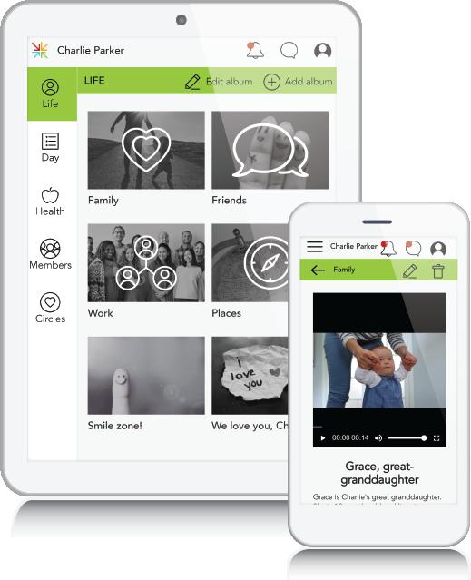 Life tablet_mobile mockup