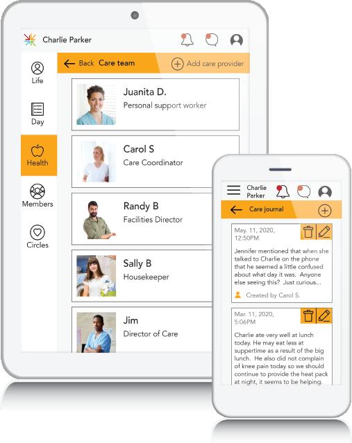 MSPX - Connect Health Mockup